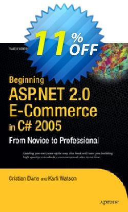 Beginning ASP.NET 2.0 E-Commerce in C# 2005 - Darie  Coupon discount Beginning ASP.NET 2.0 E-Commerce in C# 2005 (Darie) Deal - Beginning ASP.NET 2.0 E-Commerce in C# 2005 (Darie) Exclusive Easter Sale offer for iVoicesoft