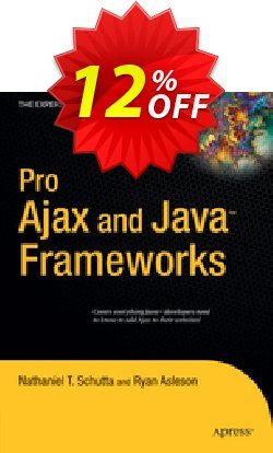 Pro Ajax and Java Frameworks - Schutta  Coupon discount Pro Ajax and Java Frameworks (Schutta) Deal - Pro Ajax and Java Frameworks (Schutta) Exclusive Easter Sale offer for iVoicesoft
