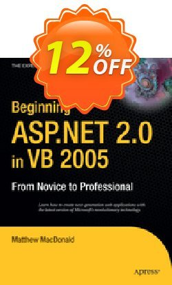 Beginning ASP.NET 2.0 in VB 2005 - MacDonald  Coupon discount Beginning ASP.NET 2.0 in VB 2005 (MacDonald) Deal - Beginning ASP.NET 2.0 in VB 2005 (MacDonald) Exclusive Easter Sale offer for iVoicesoft