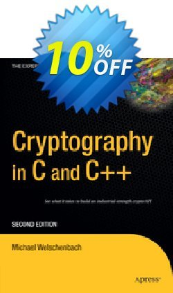 Cryptography in C and C++ - Welschenbach  Coupon, discount Cryptography in C and C++ (Welschenbach) Deal. Promotion: Cryptography in C and C++ (Welschenbach) Exclusive Easter Sale offer for iVoicesoft