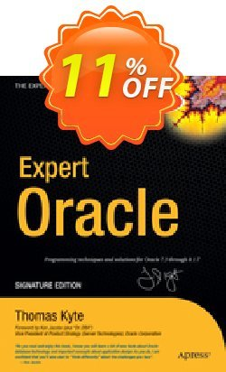 Expert One-on-One Oracle - Kyte  Coupon discount Expert One-on-One Oracle (Kyte) Deal - Expert One-on-One Oracle (Kyte) Exclusive Easter Sale offer for iVoicesoft
