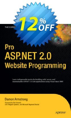 Pro ASP.NET 2.0 Website Programming - Armstrong  Coupon discount Pro ASP.NET 2.0 Website Programming (Armstrong) Deal - Pro ASP.NET 2.0 Website Programming (Armstrong) Exclusive Easter Sale offer for iVoicesoft