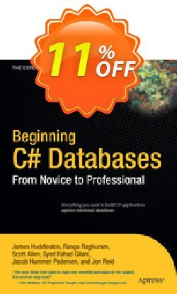 Beginning C# Databases - Allen  Coupon discount Beginning C# Databases (Allen) Deal - Beginning C# Databases (Allen) Exclusive Easter Sale offer for iVoicesoft