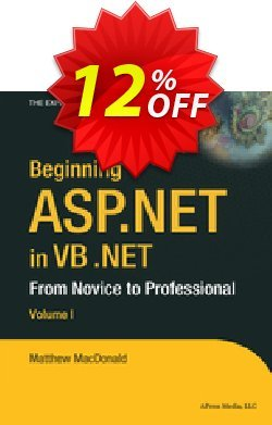 Beginning ASP.NET in VB .NET - MacDonald  Coupon discount Beginning ASP.NET in VB .NET (MacDonald) Deal - Beginning ASP.NET in VB .NET (MacDonald) Exclusive Easter Sale offer for iVoicesoft