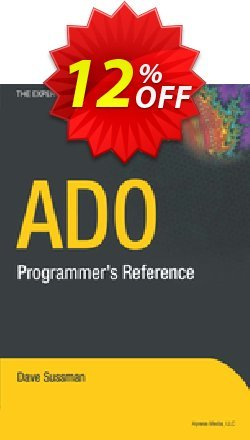 ADO Programmer's Reference - Sussman  Coupon discount ADO Programmer's Reference (Sussman) Deal - ADO Programmer's Reference (Sussman) Exclusive Easter Sale offer for iVoicesoft