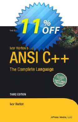 Ivor Horton's Beginning ANSI C++ - Horton  Coupon, discount Ivor Horton's Beginning ANSI C++ (Horton) Deal. Promotion: Ivor Horton's Beginning ANSI C++ (Horton) Exclusive Easter Sale offer for iVoicesoft