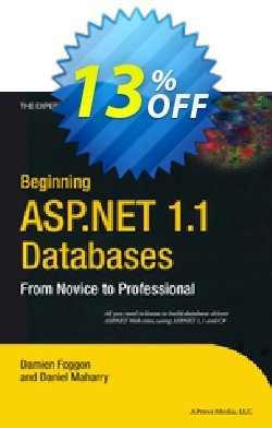 Beginning ASP.NET 1.1 Databases - Maharry  Coupon discount Beginning ASP.NET 1.1 Databases (Maharry) Deal. Promotion: Beginning ASP.NET 1.1 Databases (Maharry) Exclusive Easter Sale offer for iVoicesoft