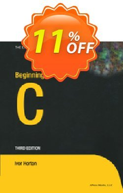 Beginning C - Horton  Coupon discount Beginning C (Horton) Deal - Beginning C (Horton) Exclusive Easter Sale offer for iVoicesoft