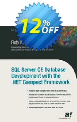 SQL Server CE Database Development with the .NET Compact Framework - Tiffany  Coupon discount SQL Server CE Database Development with the .NET Compact Framework (Tiffany) Deal - SQL Server CE Database Development with the .NET Compact Framework (Tiffany) Exclusive Easter Sale offer for iVoicesoft