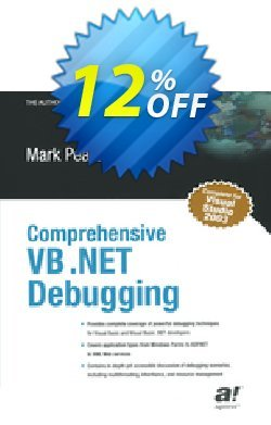 Comprehensive VB .NET Debugging - Pearce  Coupon discount Comprehensive VB .NET Debugging (Pearce) Deal. Promotion: Comprehensive VB .NET Debugging (Pearce) Exclusive Easter Sale offer for iVoicesoft