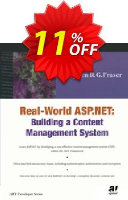 Real World ASP.NET - Fraser  Coupon discount Real World ASP.NET (Fraser) Deal - Real World ASP.NET (Fraser) Exclusive Easter Sale offer for iVoicesoft