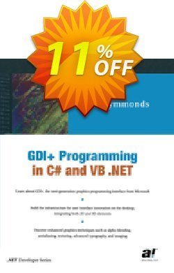 GDI+ Programming in C# and VB .NET - Symmonds  Coupon, discount GDI+ Programming in C# and VB .NET (Symmonds) Deal. Promotion: GDI+ Programming in C# and VB .NET (Symmonds) Exclusive Easter Sale offer for iVoicesoft