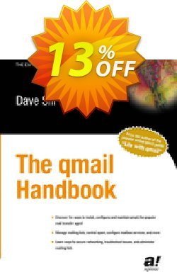 The qmail Handbook - Sill  Coupon, discount The qmail Handbook (Sill) Deal. Promotion: The qmail Handbook (Sill) Exclusive Easter Sale offer for iVoicesoft