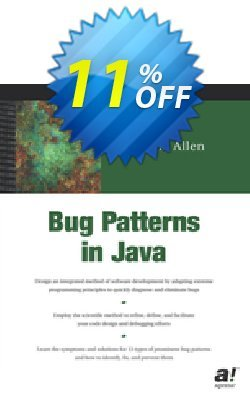 Bug Patterns in Java - Allen  Coupon, discount Bug Patterns in Java (Allen) Deal. Promotion: Bug Patterns in Java (Allen) Exclusive Easter Sale offer for iVoicesoft
