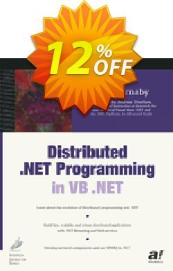 Distributed .NET Programming in VB .NET - Barnaby  Coupon, discount Distributed .NET Programming in VB .NET (Barnaby) Deal. Promotion: Distributed .NET Programming in VB .NET (Barnaby) Exclusive Easter Sale offer for iVoicesoft