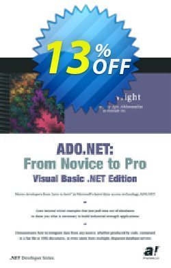 ADO.NET - Wright  Coupon, discount ADO.NET (Wright) Deal. Promotion: ADO.NET (Wright) Exclusive Easter Sale offer for iVoicesoft