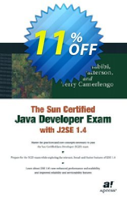 The Sun Certified Java Developer Exam with J2SE 1.4 - Patterson  Coupon, discount The Sun Certified Java Developer Exam with J2SE 1.4 (Patterson) Deal. Promotion: The Sun Certified Java Developer Exam with J2SE 1.4 (Patterson) Exclusive Easter Sale offer for iVoicesoft