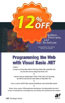 Programming the Web with Visual Basic .NET - Petersen  Coupon, discount Programming the Web with Visual Basic .NET (Petersen) Deal. Promotion: Programming the Web with Visual Basic .NET (Petersen) Exclusive Easter Sale offer for iVoicesoft