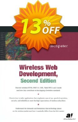 Wireless Web Development - Rischpater  Coupon, discount Wireless Web Development (Rischpater) Deal. Promotion: Wireless Web Development (Rischpater) Exclusive Easter Sale offer for iVoicesoft