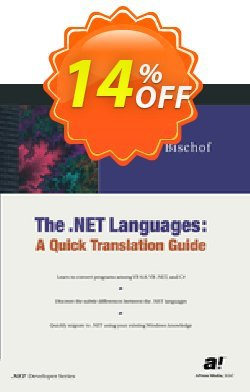 The .NET Languages - Bischof  Coupon, discount The .NET Languages (Bischof) Deal. Promotion: The .NET Languages (Bischof) Exclusive Easter Sale offer for iVoicesoft