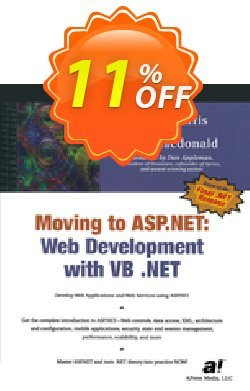 Moving To ASP.NET - Harris  Coupon, discount Moving To ASP.NET (Harris) Deal. Promotion: Moving To ASP.NET (Harris) Exclusive Easter Sale offer for iVoicesoft