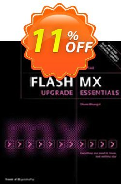 Flash MX Upgrade Essentials - Bhangal  Coupon, discount Flash MX Upgrade Essentials (Bhangal) Deal. Promotion: Flash MX Upgrade Essentials (Bhangal) Exclusive Easter Sale offer for iVoicesoft