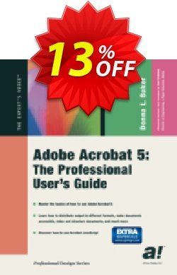 Adobe Acrobat 5 - Baker  Coupon, discount Adobe Acrobat 5 (Baker) Deal. Promotion: Adobe Acrobat 5 (Baker) Exclusive Easter Sale offer for iVoicesoft