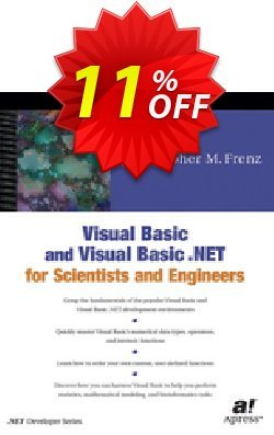 Visual Basic and Visual Basic .NET for Scientists and Engineers - Frenz  Coupon, discount Visual Basic and Visual Basic .NET for Scientists and Engineers (Frenz) Deal. Promotion: Visual Basic and Visual Basic .NET for Scientists and Engineers (Frenz) Exclusive Easter Sale offer for iVoicesoft
