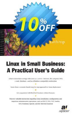 Linux in Small Business - Lathrop  Coupon, discount Linux in Small Business (Lathrop) Deal. Promotion: Linux in Small Business (Lathrop) Exclusive Easter Sale offer for iVoicesoft