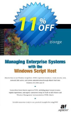 Managing Enterprise Systems with the Windows Script Host - Borge  Coupon, discount Managing Enterprise Systems with the Windows Script Host (Borge) Deal. Promotion: Managing Enterprise Systems with the Windows Script Host (Borge) Exclusive Easter Sale offer for iVoicesoft