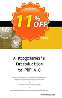 A Programmer's Introduction to PHP 4.0 - Gilmore  Coupon, discount A Programmer's Introduction to PHP 4.0 (Gilmore) Deal. Promotion: A Programmer's Introduction to PHP 4.0 (Gilmore) Exclusive Easter Sale offer for iVoicesoft