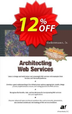 Architecting Web Services - Oellermann  Coupon, discount Architecting Web Services (Oellermann) Deal. Promotion: Architecting Web Services (Oellermann) Exclusive Easter Sale offer for iVoicesoft