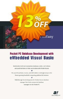 Pocket PC Database Development with eMbedded Visual Basic - Tiffany  Coupon discount Pocket PC Database Development with eMbedded Visual Basic (Tiffany) Deal - Pocket PC Database Development with eMbedded Visual Basic (Tiffany) Exclusive Easter Sale offer for iVoicesoft
