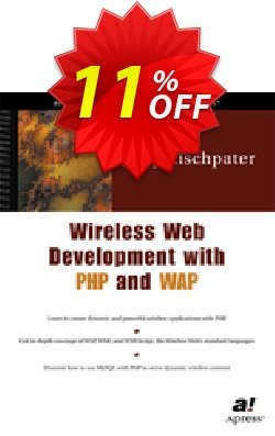 Wireless Web Development with PHP and WAP - Rischpater  Coupon, discount Wireless Web Development with PHP and WAP (Rischpater) Deal. Promotion: Wireless Web Development with PHP and WAP (Rischpater) Exclusive Easter Sale offer for iVoicesoft