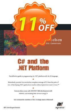 C# and the .NET Platform - Troelsen  Coupon, discount C# and the .NET Platform (Troelsen) Deal. Promotion: C# and the .NET Platform (Troelsen) Exclusive Easter Sale offer for iVoicesoft