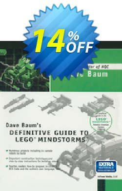 Dave Baum's Definitive Guide to LEGO MINDSTORMS - Baum  Coupon, discount Dave Baum's Definitive Guide to LEGO MINDSTORMS (Baum) Deal. Promotion: Dave Baum's Definitive Guide to LEGO MINDSTORMS (Baum) Exclusive Easter Sale offer for iVoicesoft