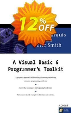 A Visual Basic 6 Programmer's Toolkit - Marquis  Coupon, discount A Visual Basic 6 Programmer's Toolkit (Marquis) Deal. Promotion: A Visual Basic 6 Programmer's Toolkit (Marquis) Exclusive Easter Sale offer for iVoicesoft