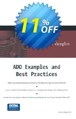 ADO Examples and Best Practices - Vaughn  Coupon, discount ADO Examples and Best Practices (Vaughn) Deal. Promotion: ADO Examples and Best Practices (Vaughn) Exclusive Easter Sale offer for iVoicesoft
