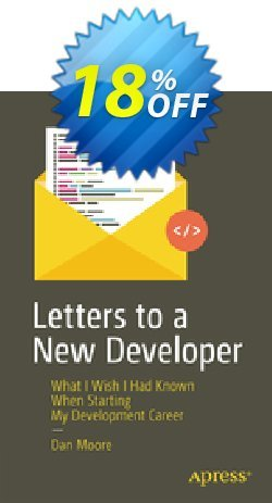 Letters to a New Developer - Moore  Coupon, discount Letters to a New Developer (Moore) Deal. Promotion: Letters to a New Developer (Moore) Exclusive Easter Sale offer for iVoicesoft
