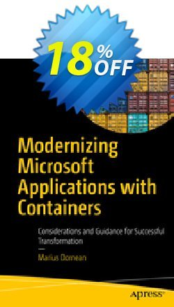 Modernizing Microsoft Applications with Containers - Dornean  Coupon, discount Modernizing Microsoft Applications with Containers (Dornean) Deal. Promotion: Modernizing Microsoft Applications with Containers (Dornean) Exclusive Easter Sale offer for iVoicesoft