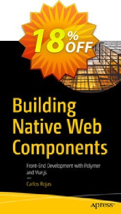 Building Native Web Components - Rojas  Coupon, discount Building Native Web Components (Rojas) Deal. Promotion: Building Native Web Components (Rojas) Exclusive Easter Sale offer for iVoicesoft