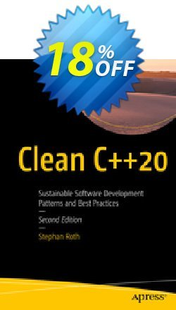 Clean C++20 - Roth  Coupon, discount Clean C++20 (Roth) Deal. Promotion: Clean C++20 (Roth) Exclusive Easter Sale offer for iVoicesoft