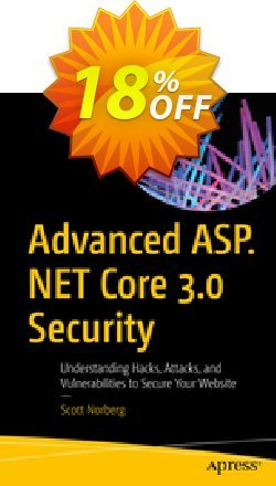 Advanced ASP.NET Core 3 Security - Norberg  Coupon, discount Advanced ASP.NET Core 3 Security (Norberg) Deal. Promotion: Advanced ASP.NET Core 3 Security (Norberg) Exclusive Easter Sale offer for iVoicesoft
