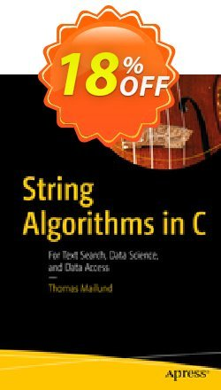 String Algorithms in C - Mailund  Coupon, discount String Algorithms in C (Mailund) Deal. Promotion: String Algorithms in C (Mailund) Exclusive Easter Sale offer for iVoicesoft