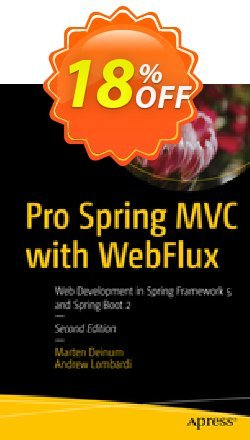 Pro Spring MVC with WebFlux - Deinum  Coupon, discount Pro Spring MVC with WebFlux (Deinum) Deal. Promotion: Pro Spring MVC with WebFlux (Deinum) Exclusive Easter Sale offer for iVoicesoft