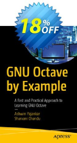 GNU Octave by Example - Pajankar  Coupon, discount GNU Octave by Example (Pajankar) Deal. Promotion: GNU Octave by Example (Pajankar) Exclusive Easter Sale offer for iVoicesoft