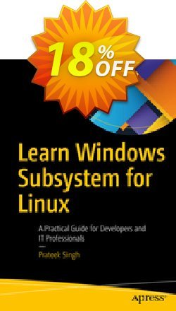 Learn Windows Subsystem for Linux - Singh  Coupon, discount Learn Windows Subsystem for Linux (Singh) Deal. Promotion: Learn Windows Subsystem for Linux (Singh) Exclusive Easter Sale offer for iVoicesoft