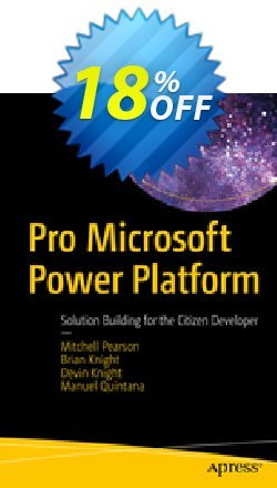 Pro Microsoft Power Platform - Pearson  Coupon, discount Pro Microsoft Power Platform (Pearson) Deal. Promotion: Pro Microsoft Power Platform (Pearson) Exclusive Easter Sale offer for iVoicesoft
