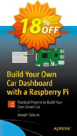 Build Your Own Car Dashboard with a Raspberry Pi - Coburn  Coupon, discount Build Your Own Car Dashboard with a Raspberry Pi (Coburn) Deal. Promotion: Build Your Own Car Dashboard with a Raspberry Pi (Coburn) Exclusive Easter Sale offer for iVoicesoft