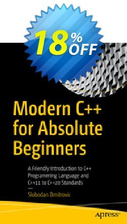 Modern C++ for Absolute Beginners - Dmitrovic  Coupon, discount Modern C++ for Absolute Beginners (Dmitrovic) Deal. Promotion: Modern C++ for Absolute Beginners (Dmitrovic) Exclusive Easter Sale offer for iVoicesoft